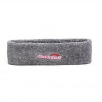 Simple Style Gray Color Headband Headbands Breathable Headband