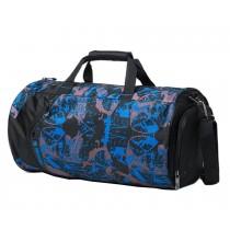 Fashion Sports Duffel Bag Gym Bag Sports Bag Travel Bag Camouflage Blue