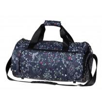 Fashion Sports Duffel Bag Gym Bag Fitness Bag Travel Bag Flowers
