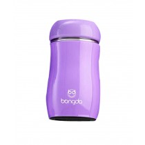 Vacuum Cup Creative Lovely Cup Children Water Bottle Stainless Steel Purple