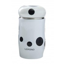 Vacuum Cup Creative Cup Student Water Bottle Stainless Steel White
