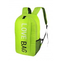 Cool Backpack Outdoor Sports Backpack Water Resistant Foldable Backpacks Green