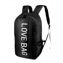 Cool Backpack Outdoor Sports Backpack Water Resistant Foldable Backpacks Black