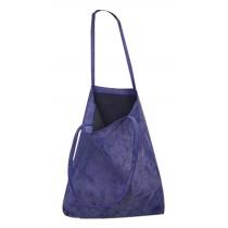 Handbag Korean version of casual shoulder bag Simple shopping bag BlUE