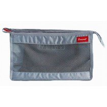 Quick Dry Mesh Shower Tote Shower Bag Cosmetic Bag for Travel, Gray
