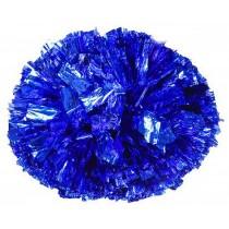 Set of 2 Cheerleaders Pom Poms Hand Flower Aerobics Ball Dance Props Games Blue