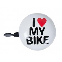 Funny Children's Bicycle Bell MTB Accessories Great Bike Bell 8cm White