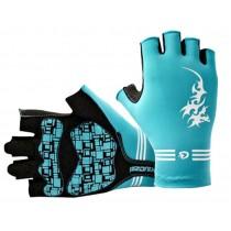 Knight Gloves Men's Cycling Gloves Half-finger Gloves Blue