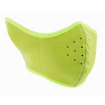 Warm Winter Outdoor Cycling Masks Windproof Ski Face Mask, Fluorescent Green