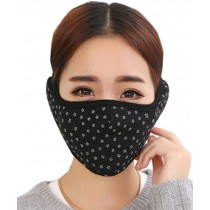 Practical Fashion Cotton Winter Outdoor Cycling Masks Ski Mask Warm Mask Black