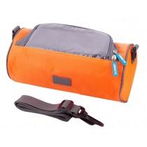 Multifunctional Bicycle Handlebar Bag Waterproof Bag Riding Orange