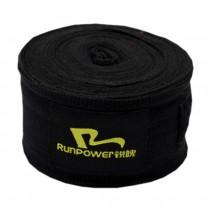 Professional Boxing Elastic Bandage Strength Boxing Wraps Hand Wrap Black A Pair