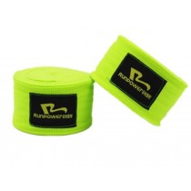 Professional Boxing Elastic Bandage Strength Boxing Wrap Hand Wrap Green A Pair