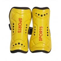 Kids Child Soccer Shin Guards Leg Yellow