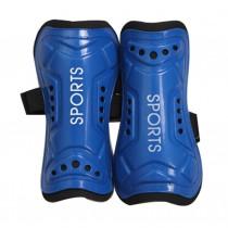 Kids Child Soccer Shin Guards Leg Blue