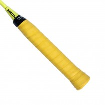 2 Pcs Non-Slip Overgrip for Tennis and Badminton Racket Bike Bar-Yellow