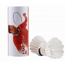 Goose Feather Badminton Training Ball Flight Stability Recreation 6PCS
