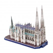 [The cathedral] Paper Architecture Building Model 3D Puzzle Educational Toy