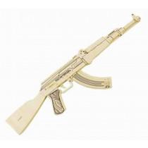 Unique 3D Puzzle Educational Toy Diy 3d Stereoscopic Puzzle, Assault Rifle