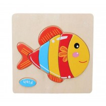 Creative Fish Children Wooden 3D Jigsaw Puzzle Set Of 2