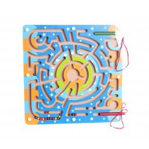 Funny Kids Circle Bead Maze Educational Parent-Child Toy With Magnetic Pen