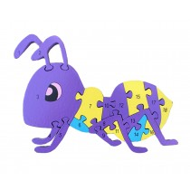 Funny Digital & Letter Wooden Blocks Puzzles Educational Puzzle Ant