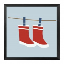[Socks]Decorative Painting Framed Painting Wall Decor Kids' Room Hanging Picture