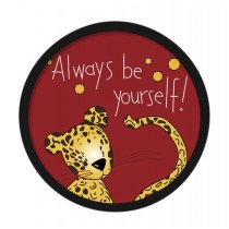 [Leopard] Decorative Painting Framed Painting Wall Decor Kids Creative Picture