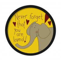 [Elephant] Decorative Painting Framed Painting Wall Decor Kids Creative Picture