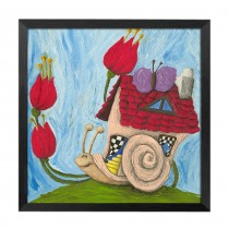 [Home] Decorative Painting Framed Painting Wall Decor Kids Creative Picture