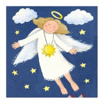 Decorative Painting Frameless Painting Wall Decor Kids Creative Picture [Angel]
