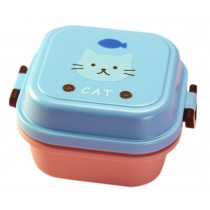 [Cat] Multifunctional Kid's Bento/Lunch Box/Container for Fruit/Salad/Snack