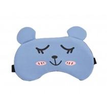 Creative Cartoon Animal Style Eye Mask Personalized Eyeshade Sleep Mask,Blue