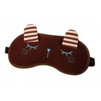 Creative Personalized Eyeshade High-quality Eye Masks,Eyes Pattern,Coffee
