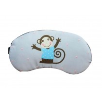 Lovely Cartoon Style Eye Mask Personalized Eyeshade Breathable,Blue Monkey