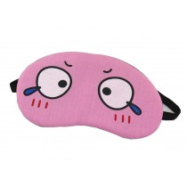 Funny Breathable Eye Mask Lovely Personalized Eyeshade,Pink Eyes