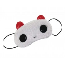 Lovely Children's Eye Masks Girl's Hairy Eyeshades,Cute Panda