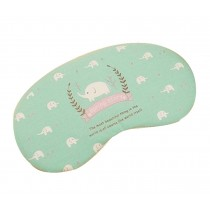 Lovely Literary Style Eye Mask Elegant Pattern Eyeshade,Calf Elephant