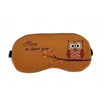 Creative Owl Pattern Eye Mask High-quality Cotton Eyeshade