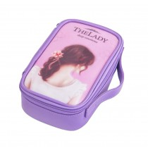 Classic Fashionable Makeup Case User-friendly Cosmetic Bag Large Capacity