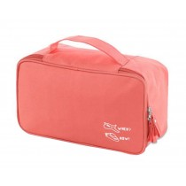 Classic Durable Makeup Case High Quality Cosmetic Bag Storage Bags,Orange