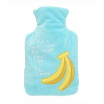 Creative Cartoon Fruits Hot&Cold Water Bottle /Portable Hand Warmer, 1000 ML