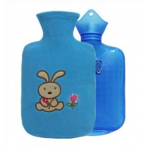 2016 New Style Classic Children Hot Water Bottle & Hand Warmer 800 ML, Blue