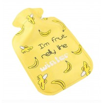 2016 New Style Creative Mini Hot Water Bottle/Hand Warmer, 300ML, Yellow Bananas