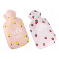 Set of 2 Lovely Mini Hot Water Bottle/Hand Warmer, Light and Handy, 100 ML