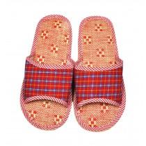 Practical Lightweightin Women Floor Cotton Slippers/Hotel Drag, Orange