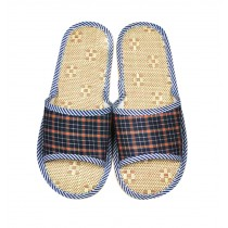 Linen Grass Spring And Summer Home Men's Cotton Slippers/Hotel Slippers