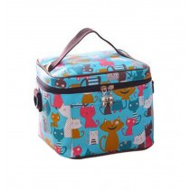 Durable  Aluminum Foil Cartoon Pashmy Mummy Lunch Bag, Square Zipper