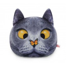 Animal Pattern Safety Headrest/Funny Car Neck Pillow/Birthday Present