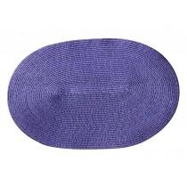Set of 3 High-grade Purple Durable Place Mats Insulation Mats Coaster